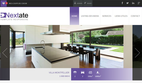 Responsive design votre site d 39 agence immobili re adapt for Agence immobiliere site