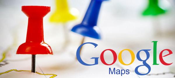 Google réduit la Google Map sur la première page de recherche
