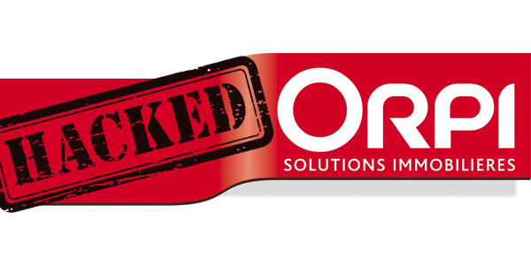 Une agence du réseau Orpi piratée