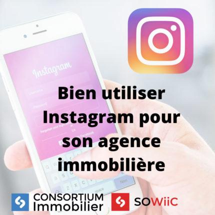 utiliser instagram immobilier