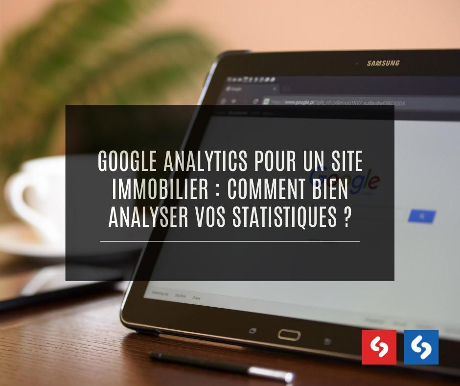 google-analytics immobilier