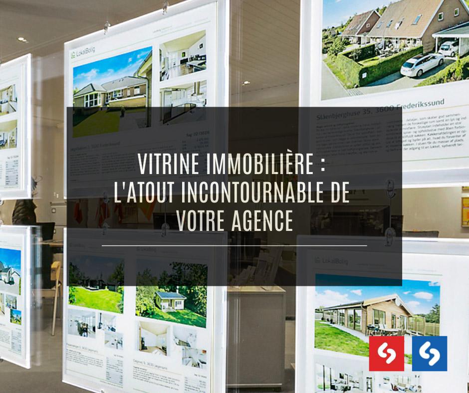 vitrine agence immobilière