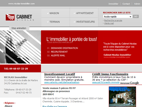 Cabinet Nicolas Immobilier