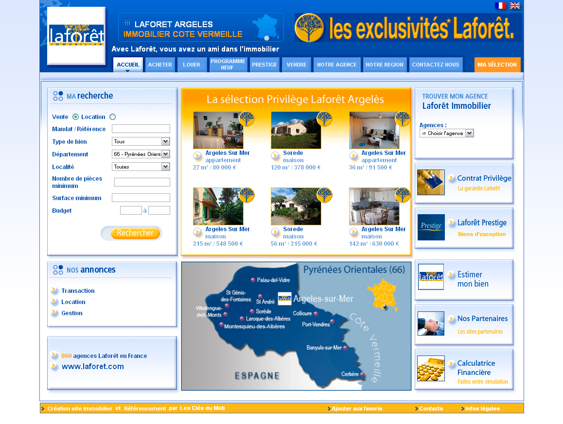 laforet cr ation site agence immobili re laforet immobilier