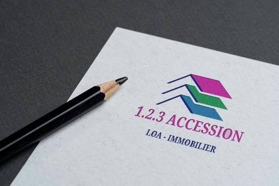 Ancien Logo 123 Accssion