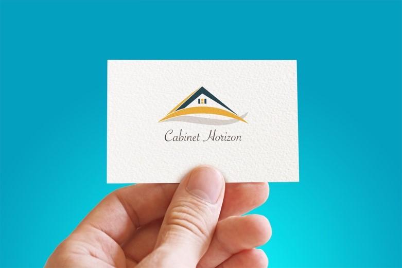 Carte de visite logo Cabinet Horizon