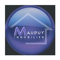 logo bleu lavande maupuy immobilier