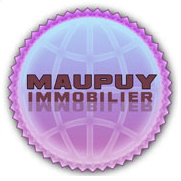 logo professionnel maupuy immobilier