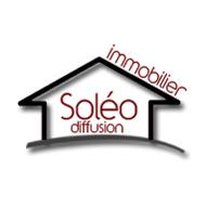 logo branding Soleo Diffusion