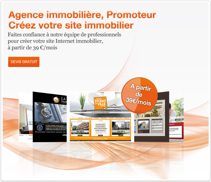 creation site agence immobiliere paris - Creer Un Site De Cuisine
