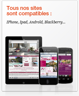Site internet compatible Iphone