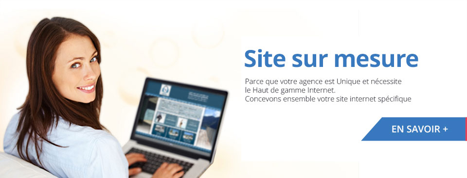 Cr�ation site agence immobiliere sur mesure